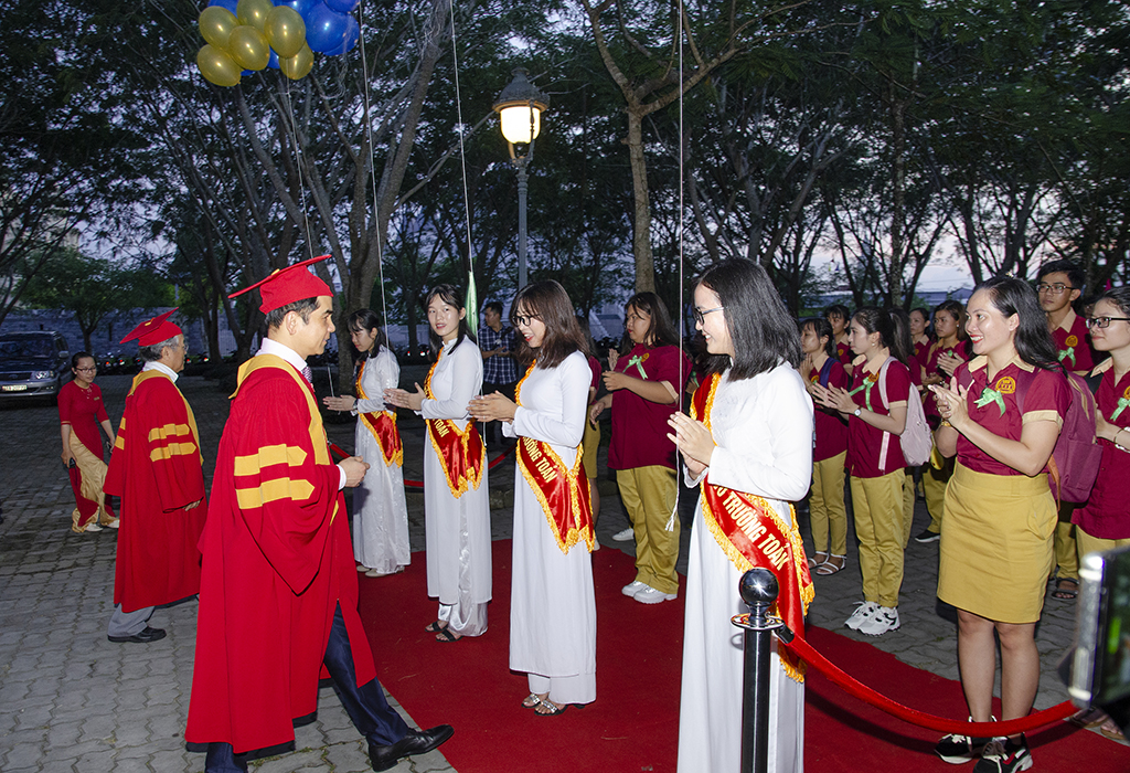 Opening Ceremony, Welcoming New Students of Vo Truong Toan University