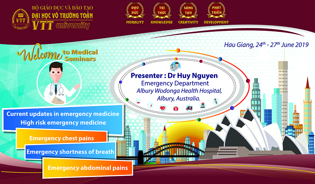 Scientific seminar in relation to Emergency in medicine – Action of professional development